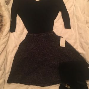 NWT Adrienne Vittadini winter skirt.